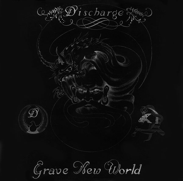 Discharge Grave New World Cover Art