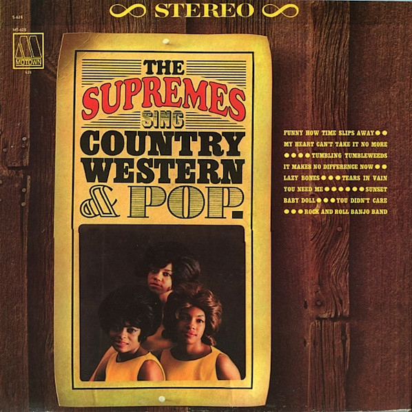 The Supremes Sing Country Western & Pop cover art