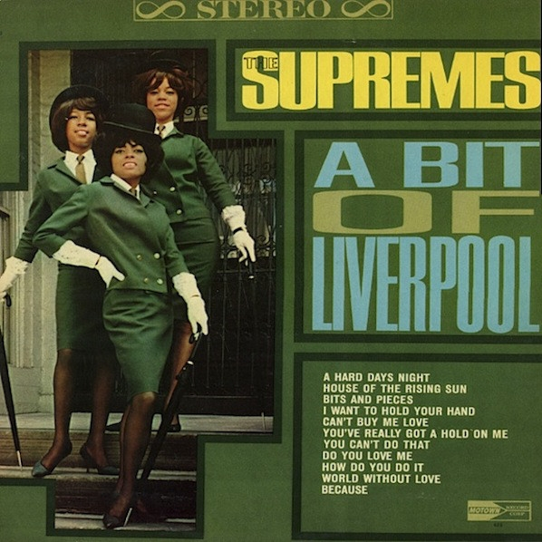 The Supremes A Bit of Liverpool cover art