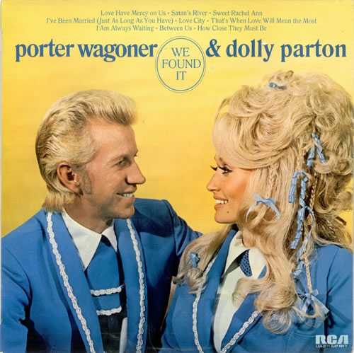 Dolly Parton We Found It cover art
