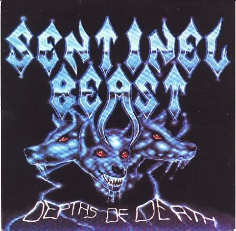 Sentinel Beast Depths of Death Cover Art