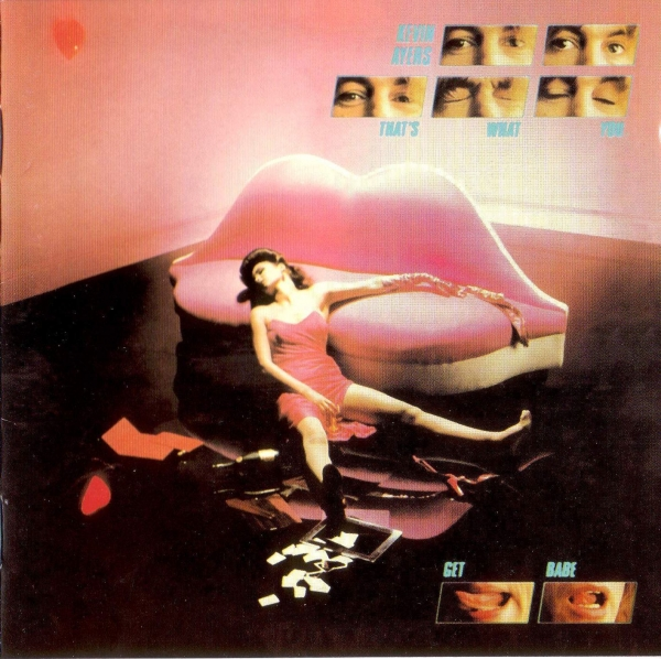 Kevin Ayers That's What You Get Babe cover art