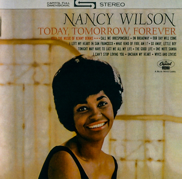 Nancy Wilson Today, Tomorrow, Forever cover art