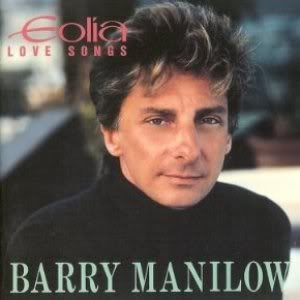 Barry Manilow Eolia: Love Songs Cover Art
