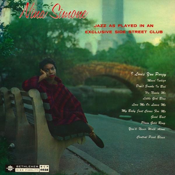 Nina Simone Little Girl Blue cover art