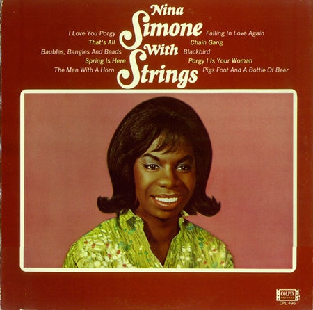 Nina Simone Nina Simone With Strings cover art