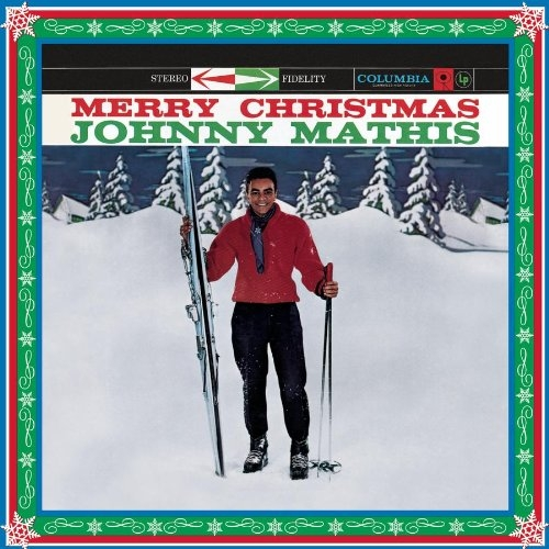 Johnny Mathis Merry Christmas cover art