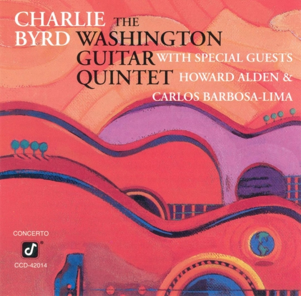 The Washington Guitar Quintet Charlie Byrd & The Washington Guitar Quintet cover art