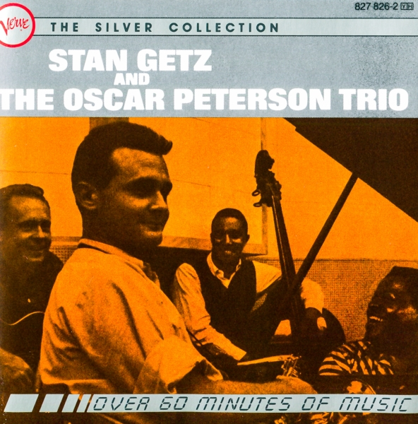 The Oscar Peterson Trio Stan Getz and The Oscar Peterson Trio cover art