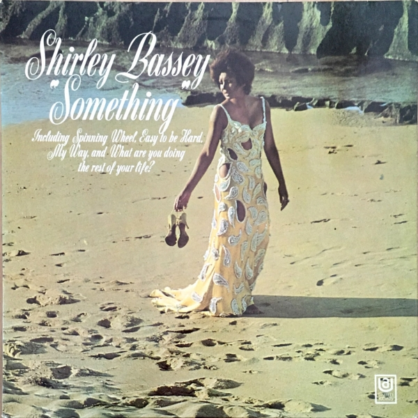 Shirley Bassey Something cover art