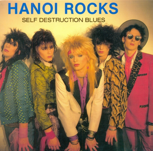 Hanoi Rocks Self Destruction Blues cover art