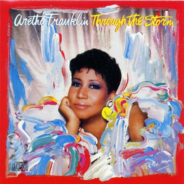 Aretha Franklin Through the Storm cover art