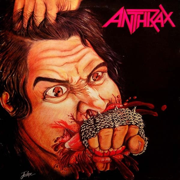 Anthrax Fistful of Metal Cover Art