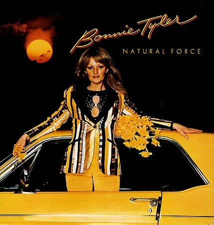 Bonnie Tyler Natural Force cover art