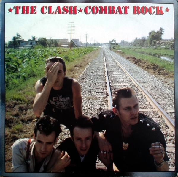 The Clash Combat Rock cover art