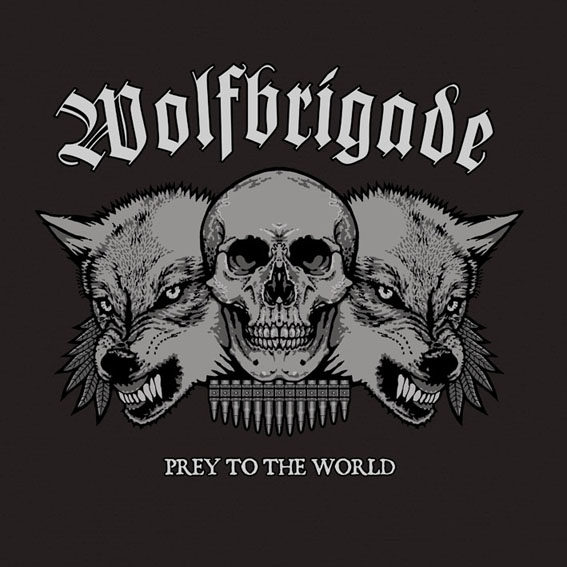 Wolfbrigade Prey to the World Cover Art
