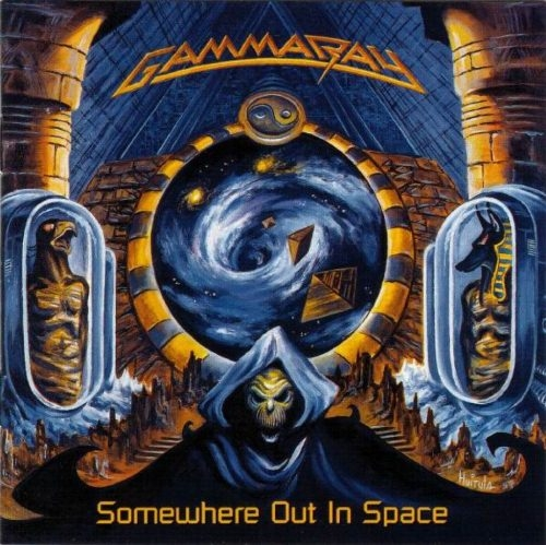 Gamma Ray Somewhere Out in Space cover art