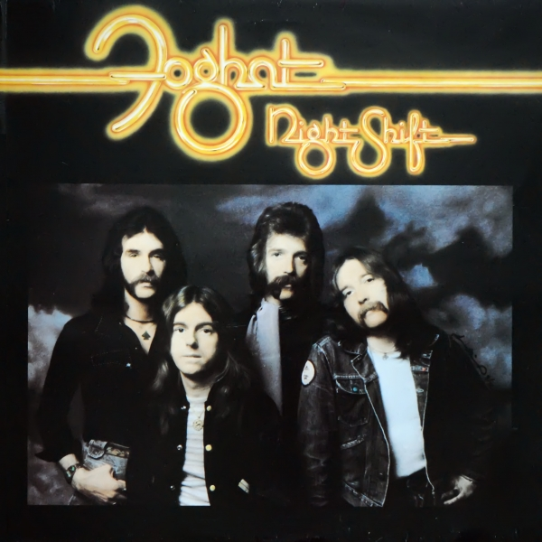 Foghat Night Shift cover art