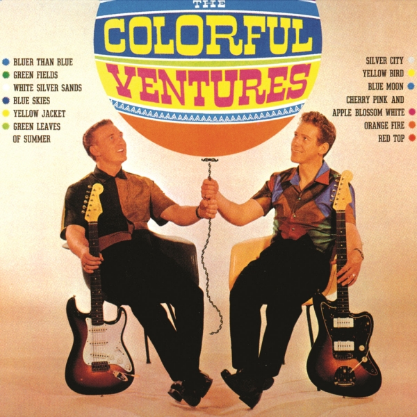 The Ventures The Colorful Ventures Cover Art