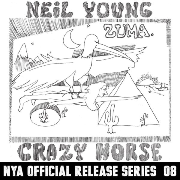Neil Young Zuma cover art