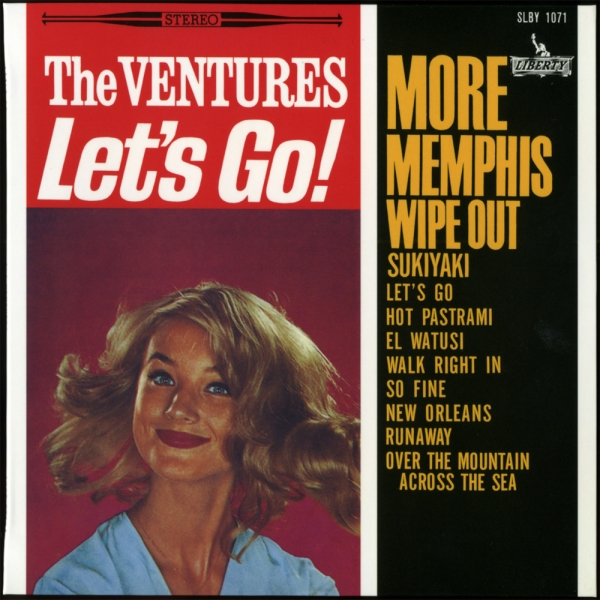 The Ventures Let's Go! cover art