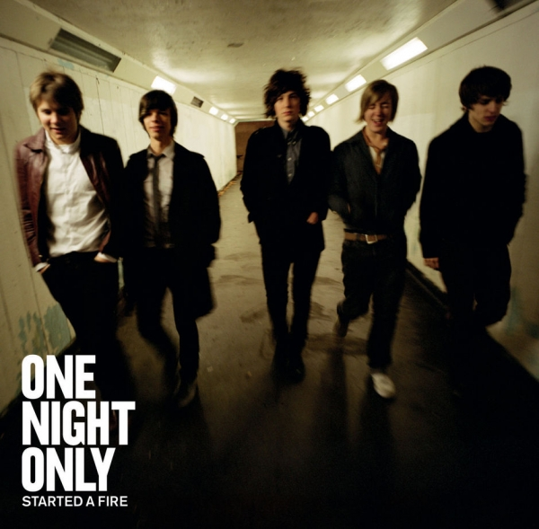 One Night Only Started a Fire cover art