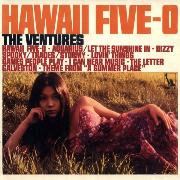 The Ventures Hawaii Five‐O cover art