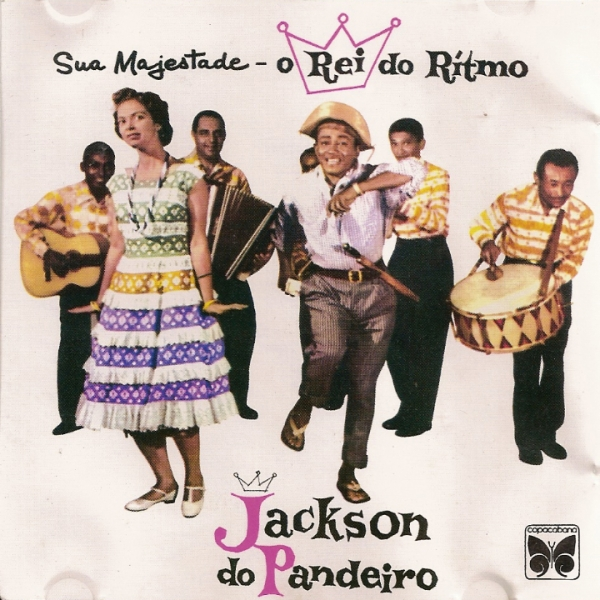 Jackson do Pandeiro Sua Majestade - O rei do ritmo, Jackson do Pandeiro cover art