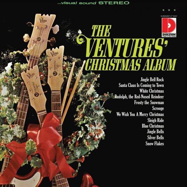 The Ventures The Ventures' Christmas Album cover art