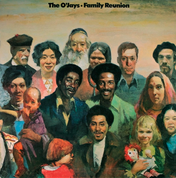 The O'Jays Family Reunion cover art