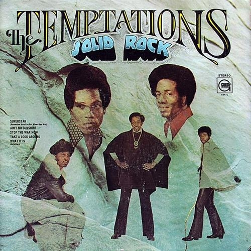 The Temptations Solid Rock Cover Art