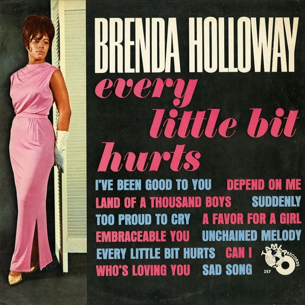 Brenda Holloway Every Little Bit Hurts cover art