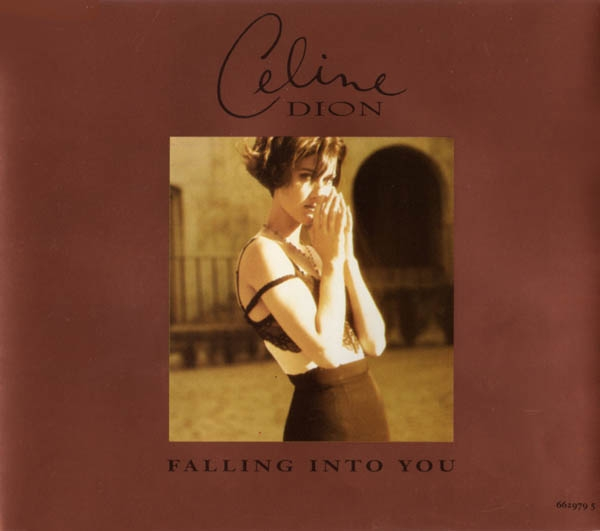 Céline Dion Falling Into You Cover Art