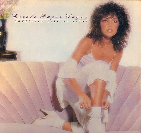 Carole Bayer Sager Sometimes Late at Night cover art
