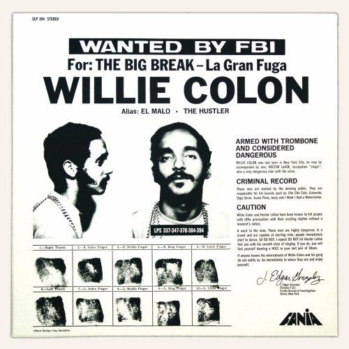 Willie Colón The Big Break - La gran fuga cover art