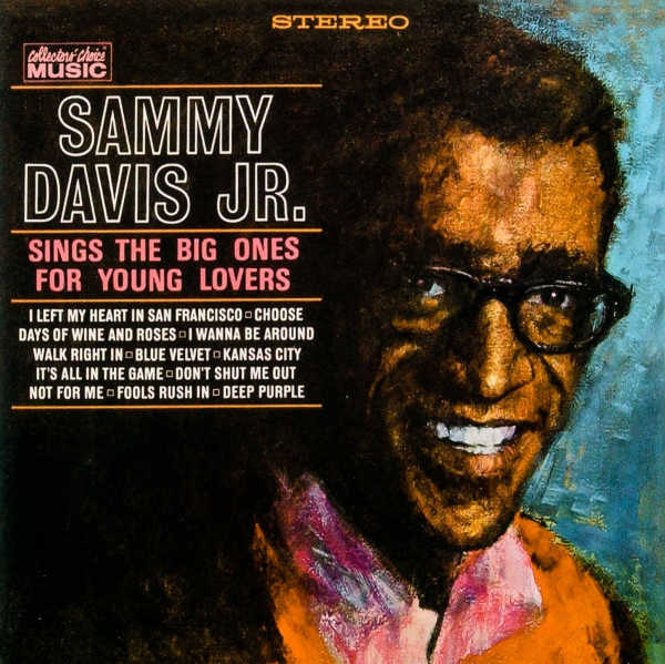 Sammy Davis Jr. Sings the Big Ones for Young Lovers cover art