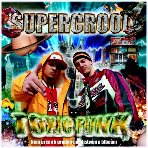 Supercrooo Toxic Funk cover art