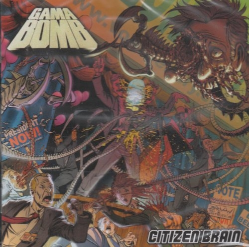 Gama Bomb Citizen Brain cover art