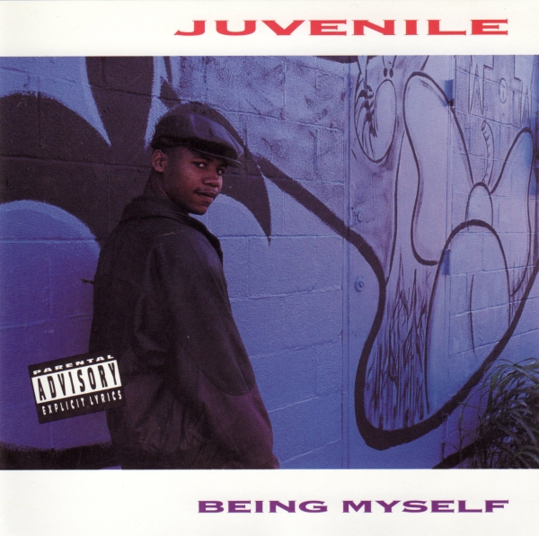 Juvenile Being Myself cover art