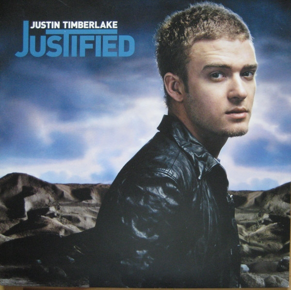 Justin Timberlake Justified cover art