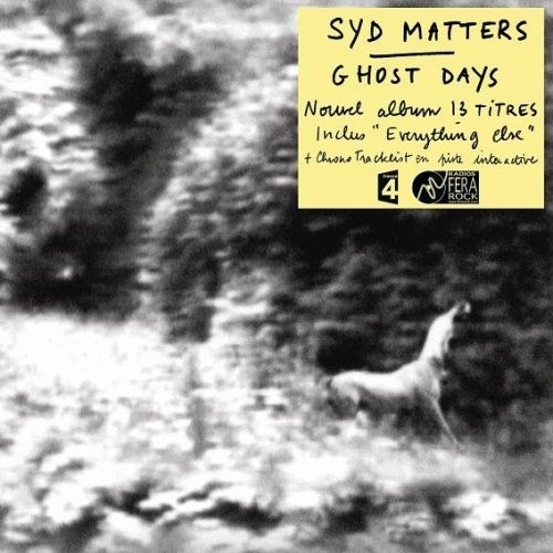 Syd Matters Ghost Days cover art