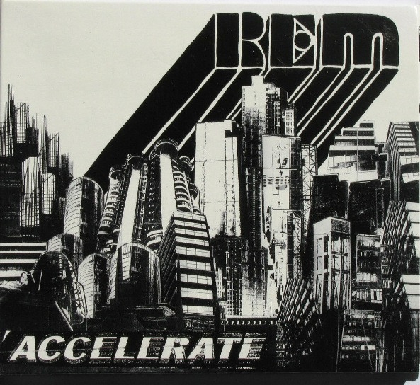 R.E.M. Accelerate cover art