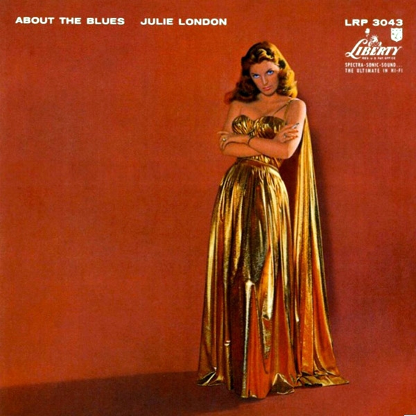 Julie London About the Blues cover art
