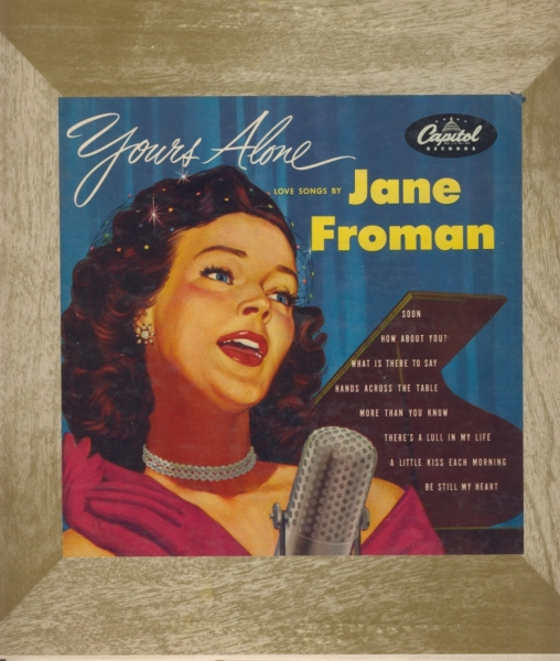 Jane Froman Yours Alone cover art