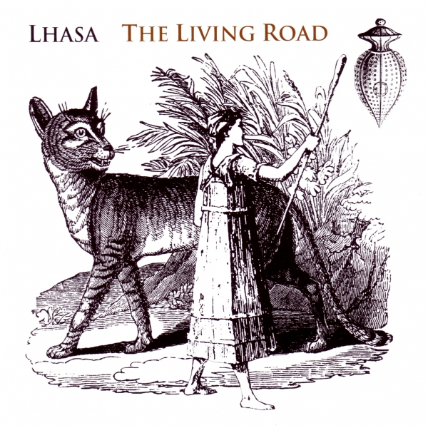 Lhasa The Living Road cover art