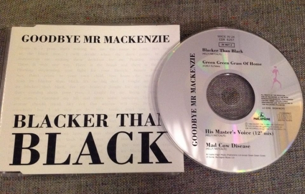 Goodbye Mr. Mackenzie Blacker Than Black Cover Art