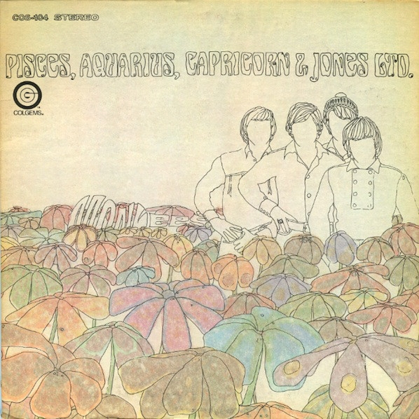 The Monkees Pisces, Aquarius, Capricorn & Jones Ltd. cover art