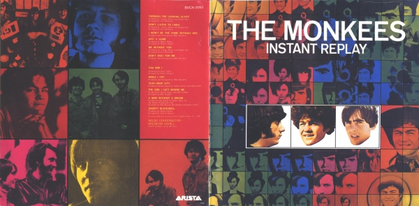 The Monkees Instant Replay cover art
