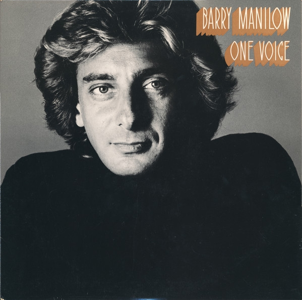 Barry Manilow One Voice cover art