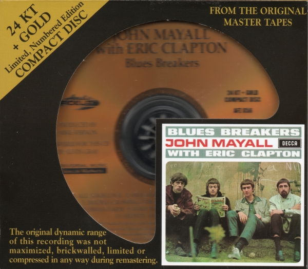 John Mayall & The Bluesbreakers Blues Breakers With Eric Clapton cover art